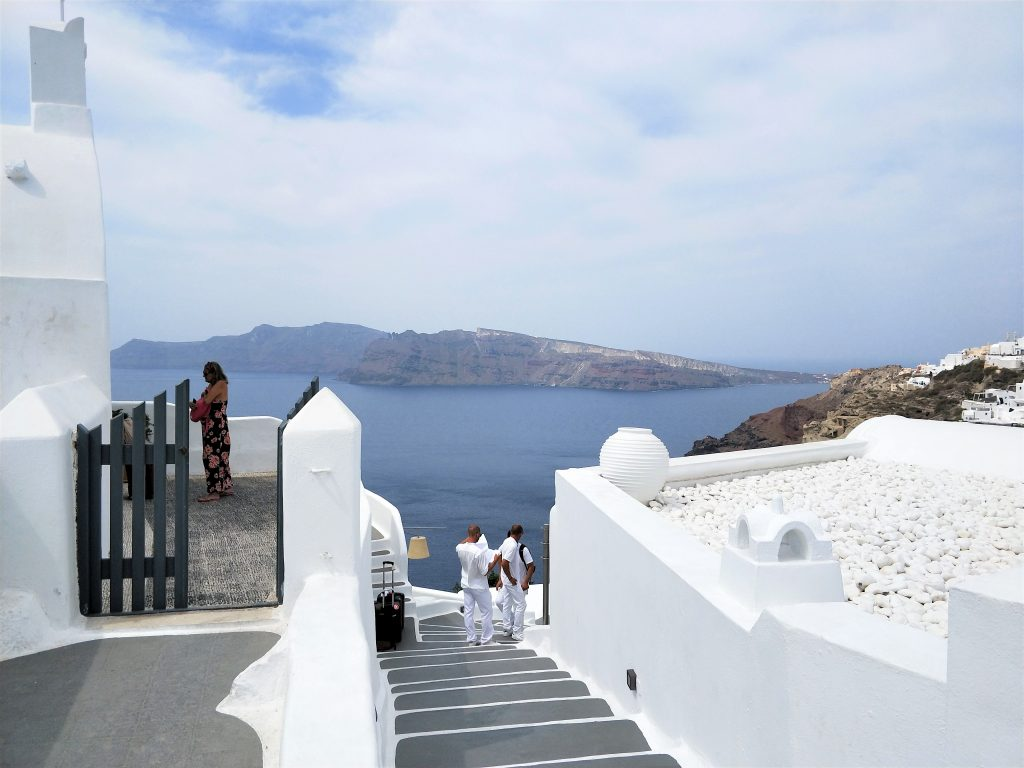 郵輪停靠希臘聖托里尼一日遊 靠港Santorini行程建議