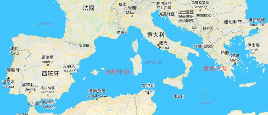 東地中海郵輪 八日遊 郵輪停靠希臘與克羅埃西亞