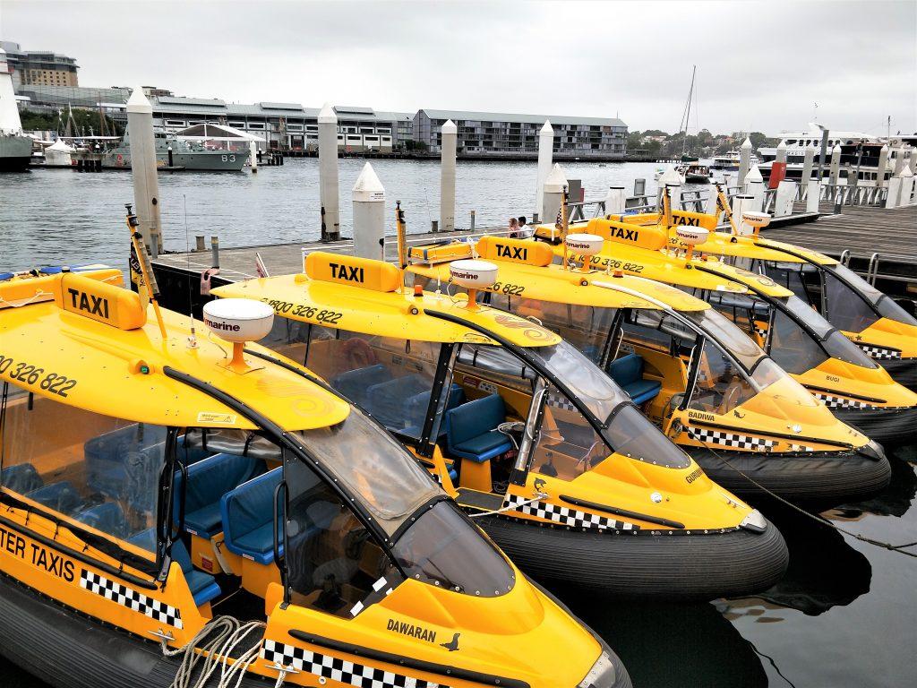 雪梨水上計程車