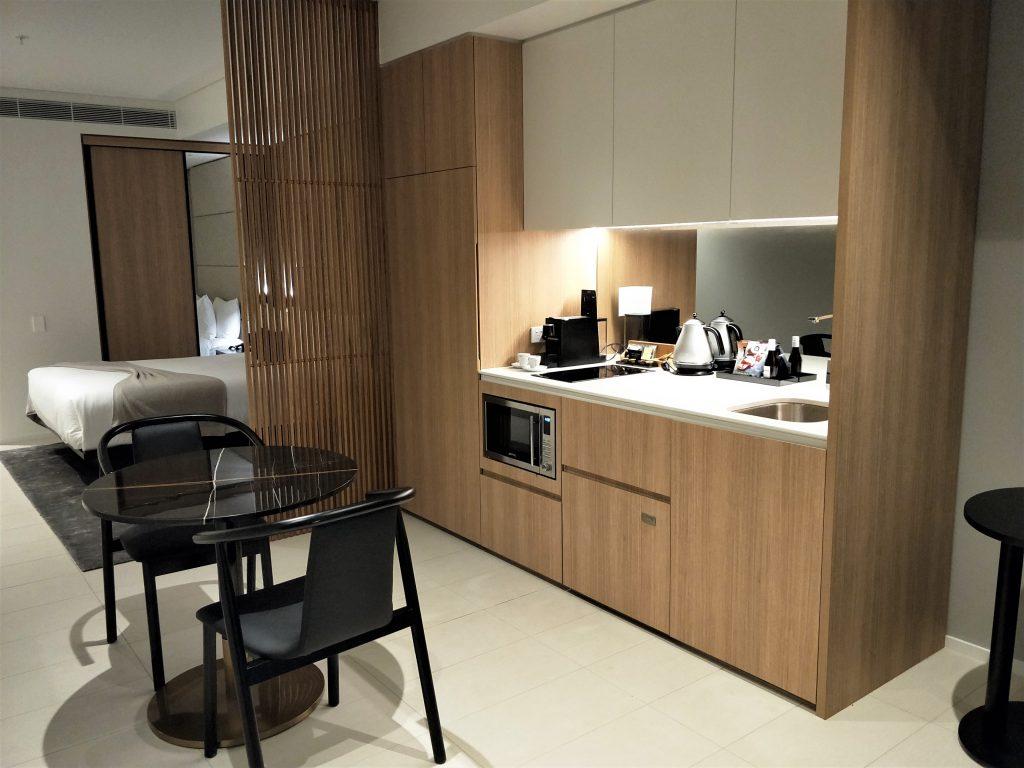 雪梨住宿 - 房间厨房