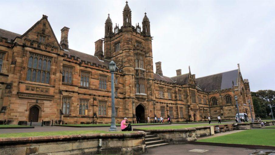 雪梨一日遊 - 雪梨大學