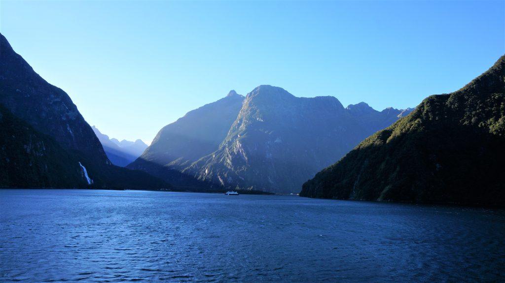 紐西蘭郵輪 - 紐西蘭峽灣