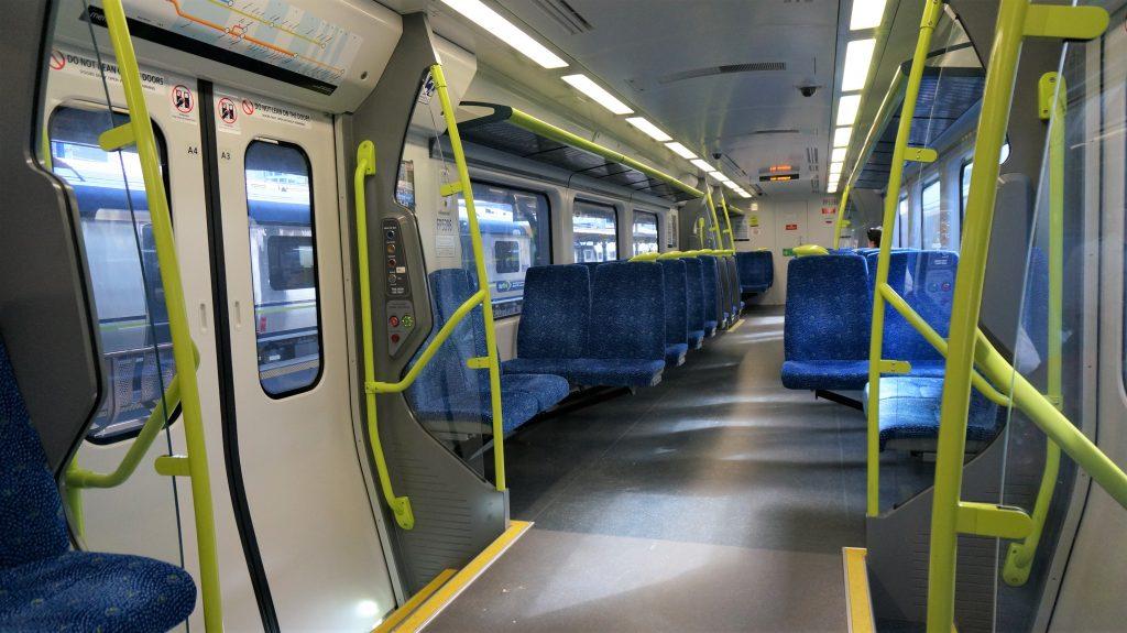 威靈頓岸上觀光 - 威靈頓火車座位