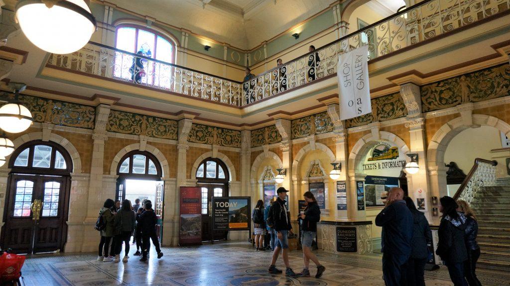 但尼丁岸上观光 - 但尼丁火车站
