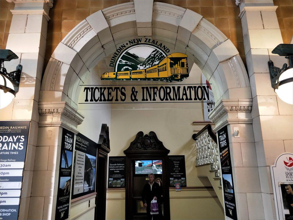 觀光火車之旅售票處