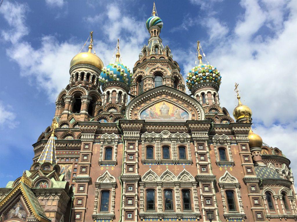 圣彼得堡岸上观光 - 喋血大教堂