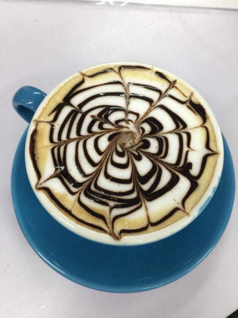 安排退休生活 - 咖啡雕花