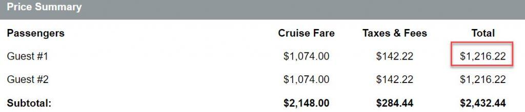 2020年寒假郵輪 - Cruisedirect 線上報價