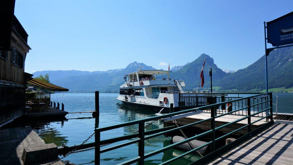 奧地利湖區自由行 - 沃夫岡湖美景