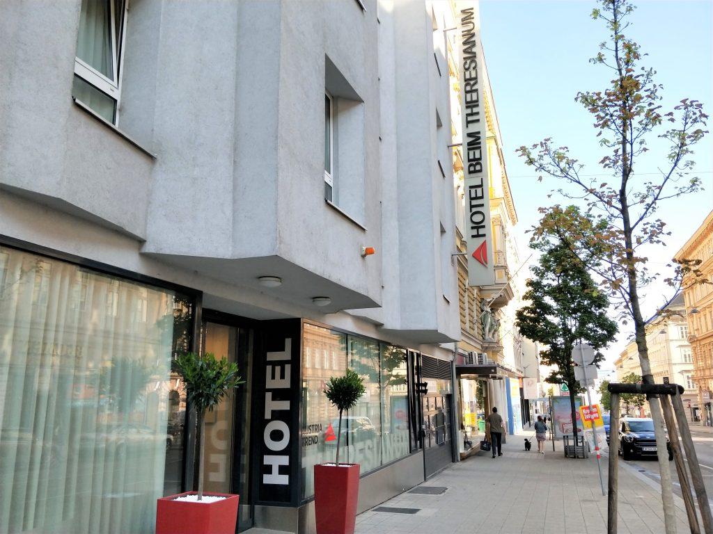 維也納奔姆泰麗莎奧地利流行酒店 (Austria Trend Hotel beim Theresianum Wien)