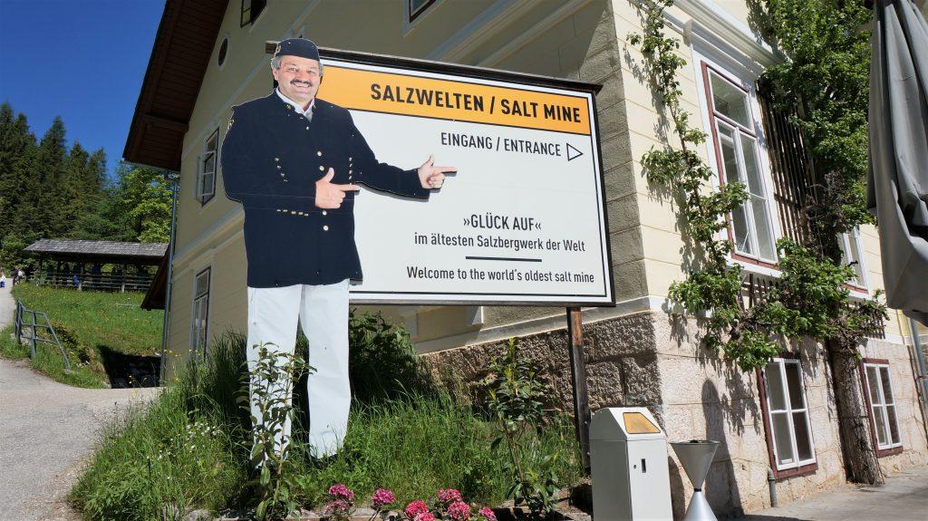 奧地利湖區自由行 - 哈爾施塔特山上鹽礦坑
