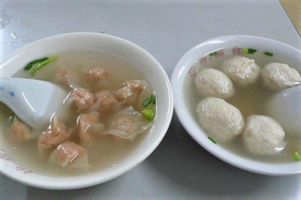 扁食湯、魚丸湯