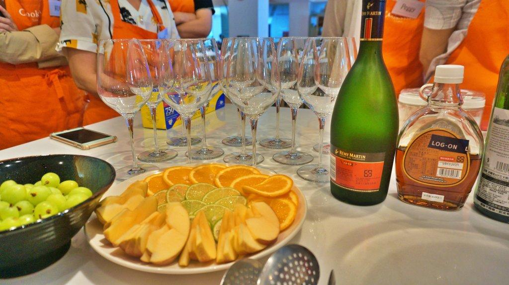 西班牙烹飪課 - 製作西班牙水果酒