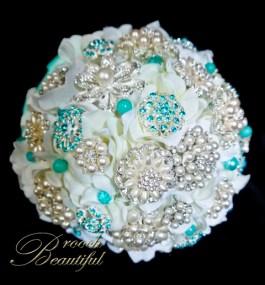 Tiffany Pearl brooch Bouquet web4