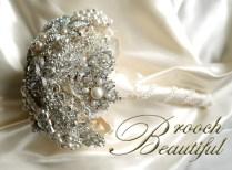 pearl bling brooch bouquet web5