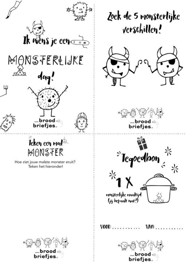Monsterlijke Briefjes
