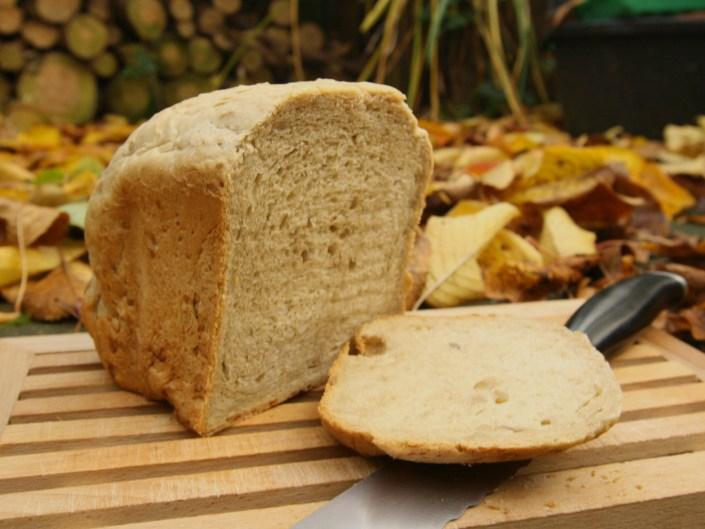 Zonnebloempitbrood op basis van een broodmix van Lidl