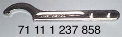 BMW Hook Spanner and Pin Wrench (Source: Hucky's Spare Parts)