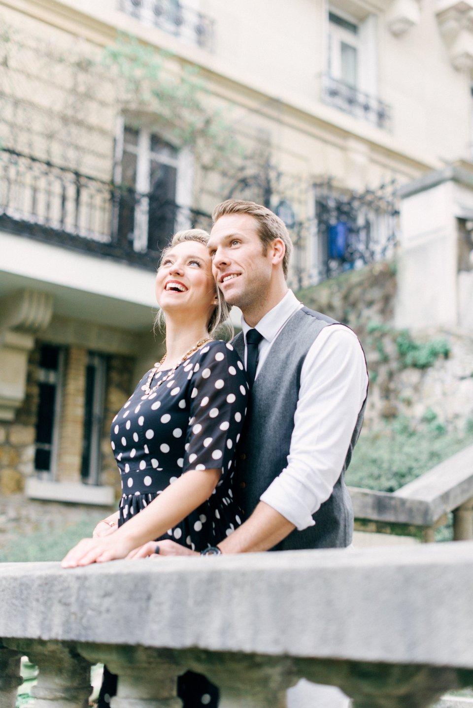 Brooke & Doug's Vintage Inspired Paris Photoshoot