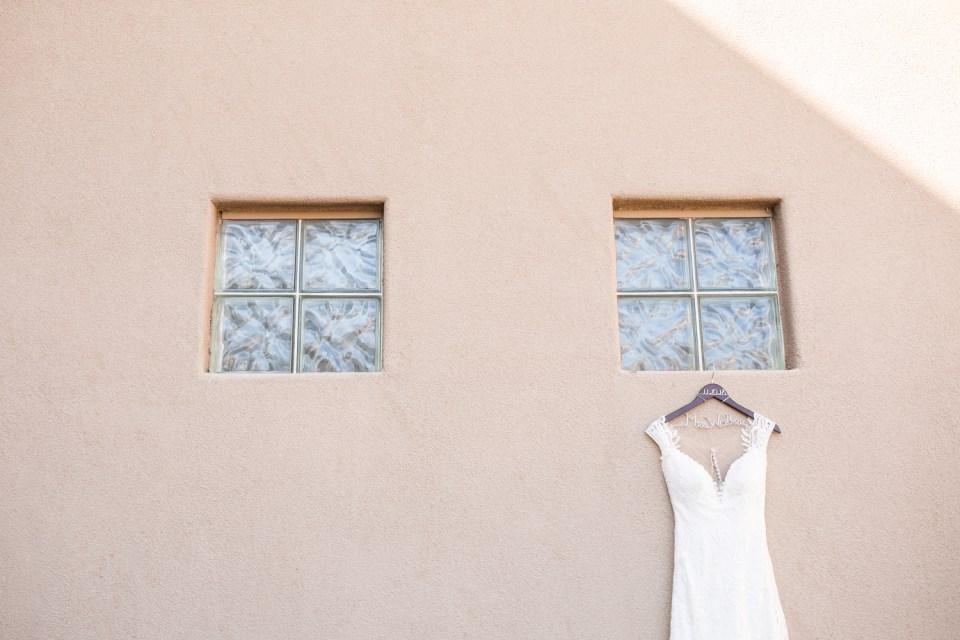 Eddy K wedding dress with straps