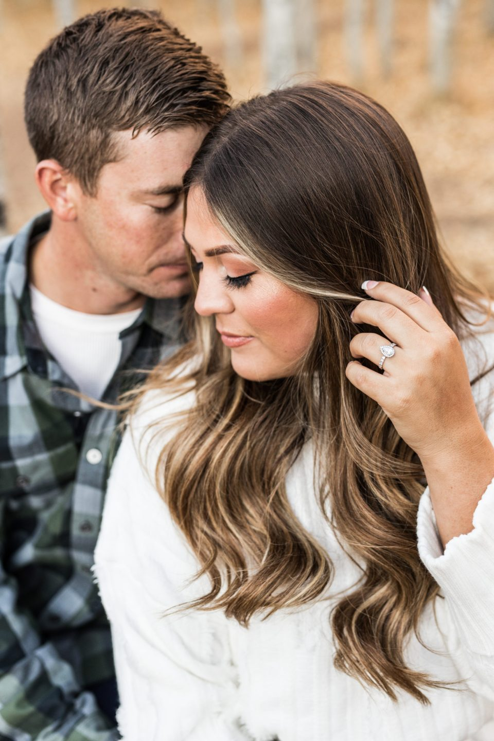 Fall Flagstaff Engagement Photography by Brooke & Doug Photography