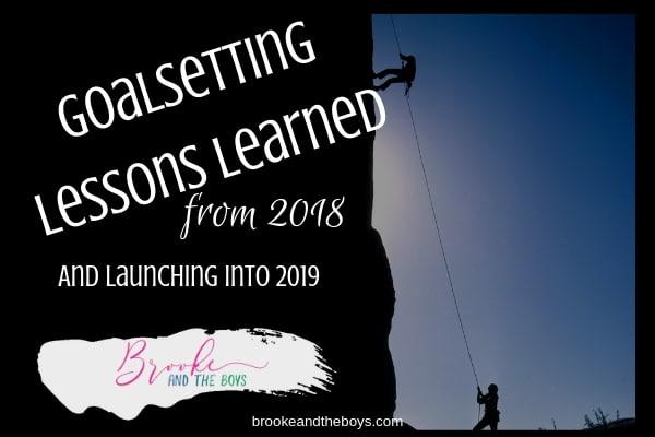 Goal setting lessons