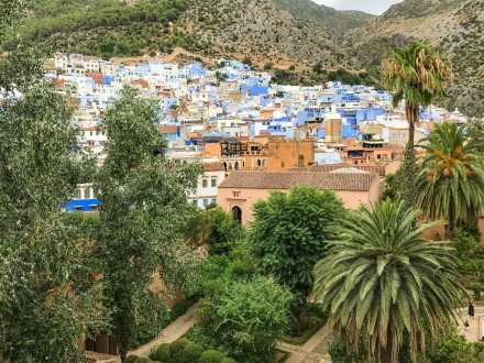 Chefchaouen from the Kasbah