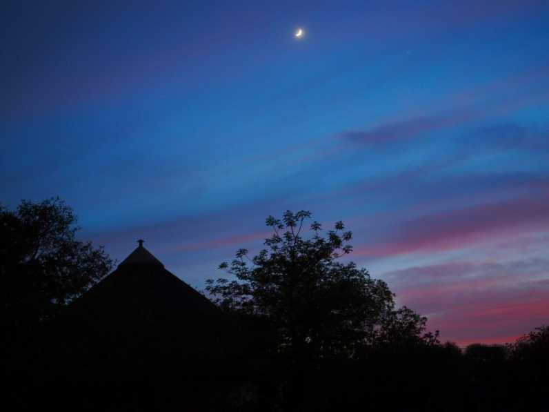 Sunrise over Satara