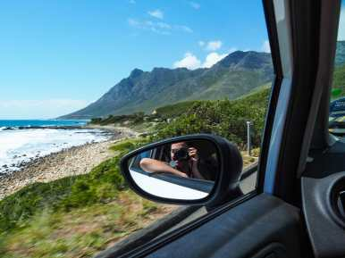 On the road to Gordon's Bay