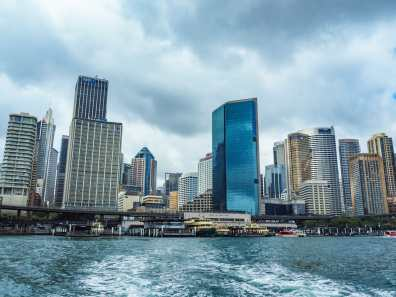 Ferry departing from Circular Quay