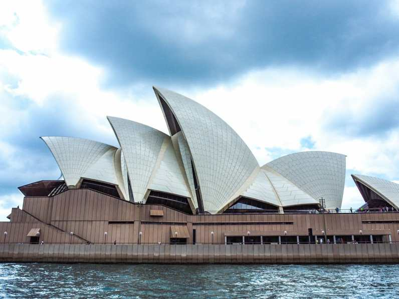 Cloudy views of the Opera House
