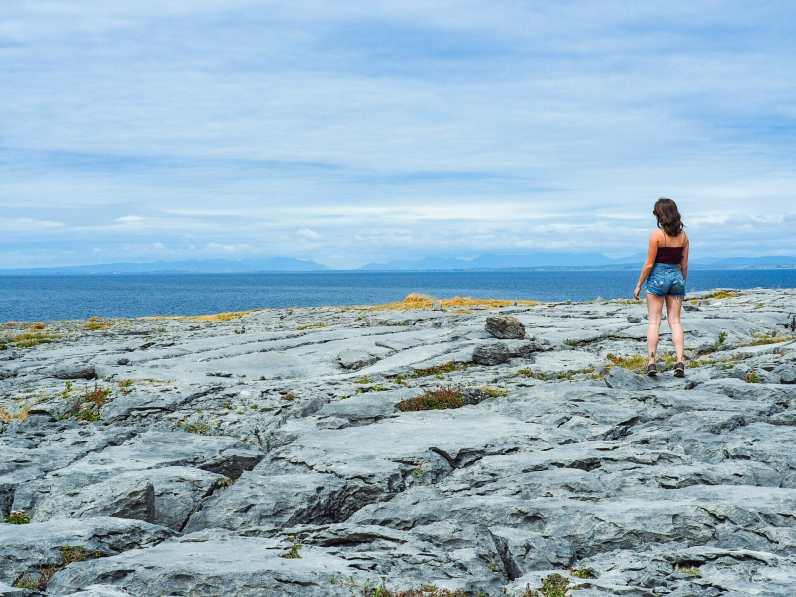 Walking along the Burren