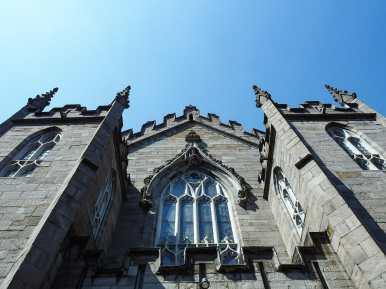 Looking up at the Chapel Royal