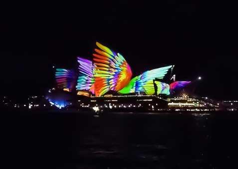 Sydney Opera House transformed for VIVID