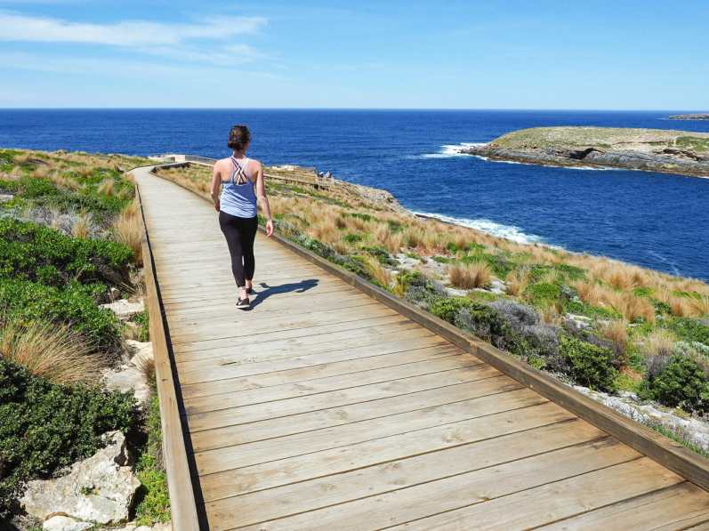 Strolling along in Flinders Chase National Park