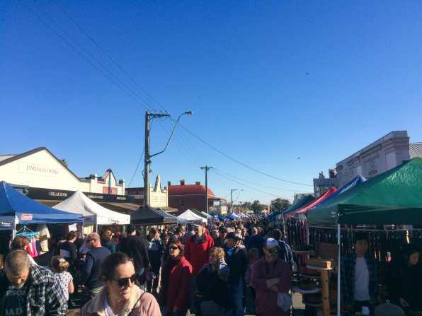Rutherglen's enormous Country Fair