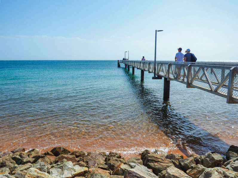 Amazing colours at the Amity Point Jetty