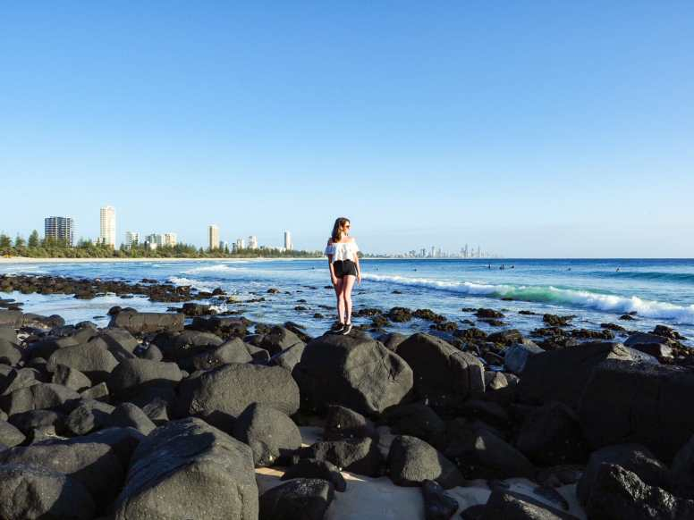 Volcanic rocks at Burleigh Hill