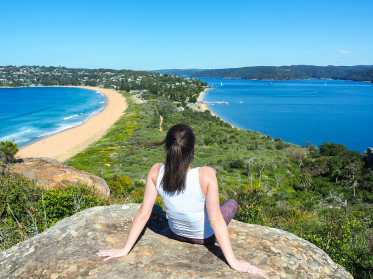 An incredible view from Barrenjoey Lighthouse