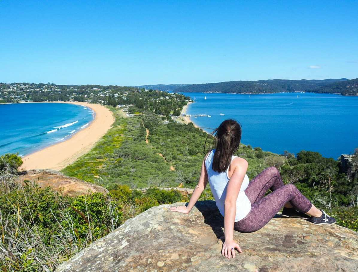 Palm Beach as seen from Barrenjoey Lighthouse