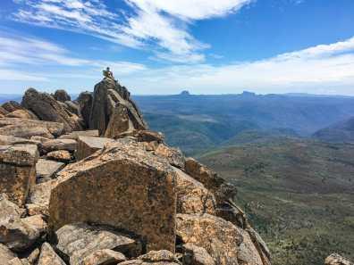 Dad on the Mt Ossa summit