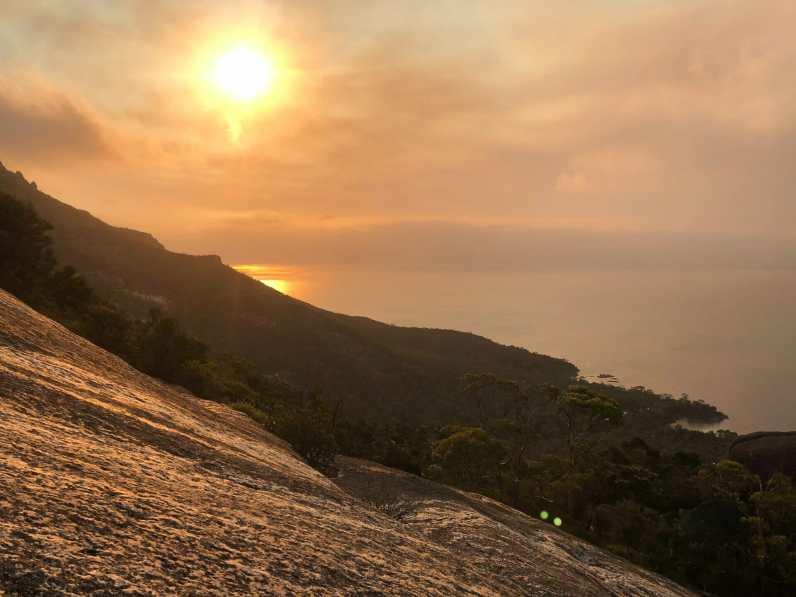 Sunset over Mt Amos