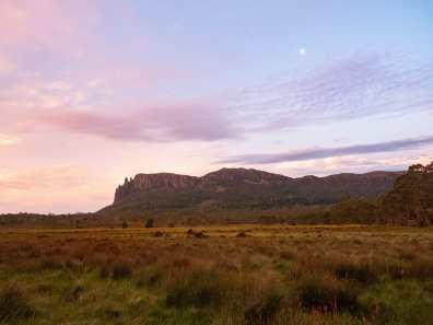 Sunset over Mt Oakleigh