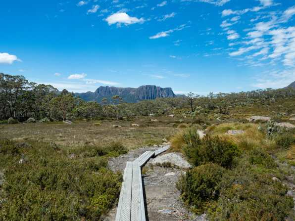 Amazing scenery on the Overland Track