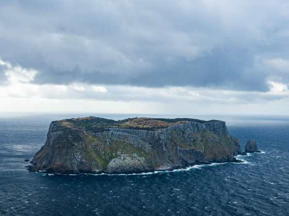 Desolate and eerily beautiful Tasman Island