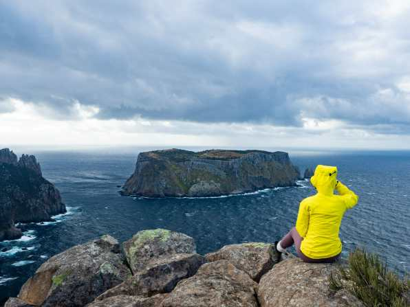 Incredible view of Tasman Island