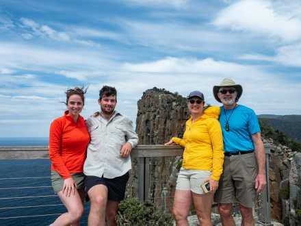 Family photo at Cape Huay