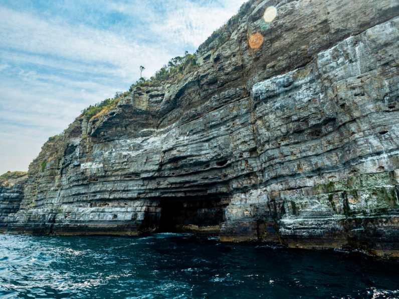 Beautiful sea cliffs