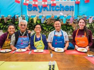 Amazing cooking class with SkyKitchen Peru in Lima