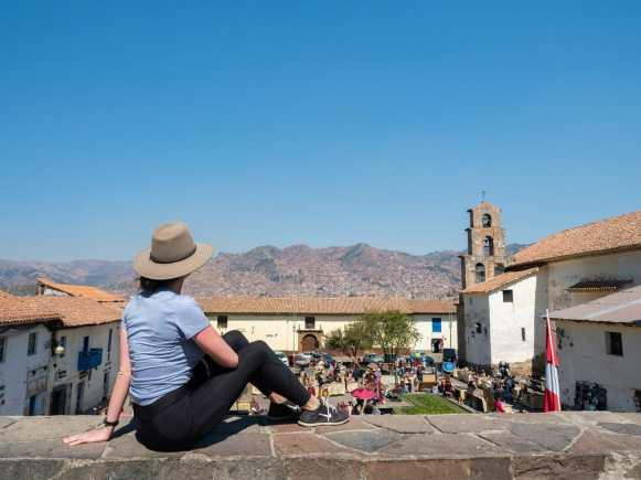 Overlooking Plaza San Blas